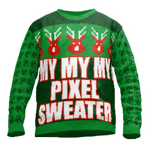 Pixel Pullover