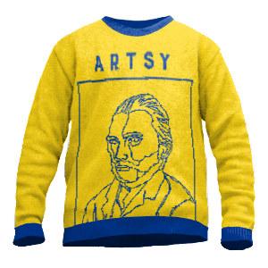 Künstler Pullover