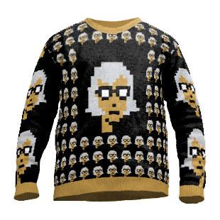 Cryptopunk sweater