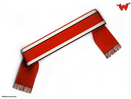 Football scarf with top & bottom bars