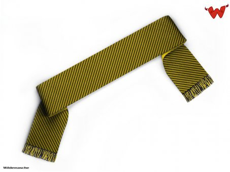 Football scarf with thin lines