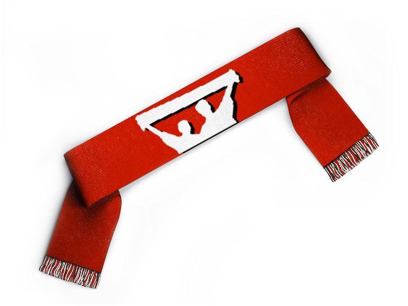 Fanschal Fan mit Schal mit Text und Logo gestalten
