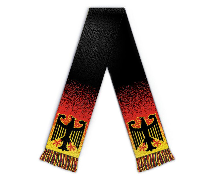 Fanschal Deutschland Schal mit Name gestalten