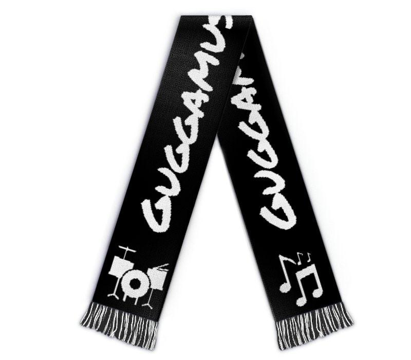 Fanschal Guggenmusik Schal mit Name, Wappen, Logo