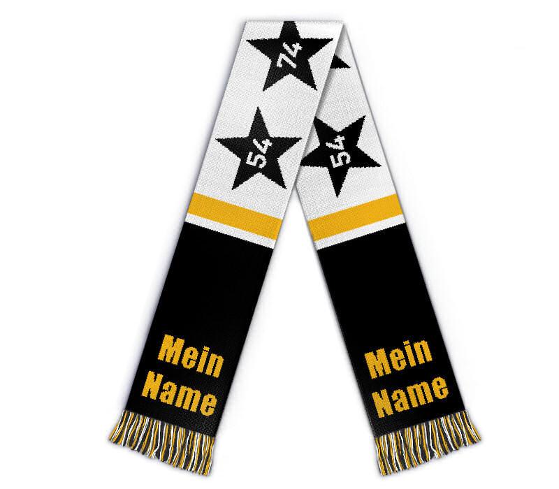 Fanschal Deutschland Schal gestalten 4 Sterne
