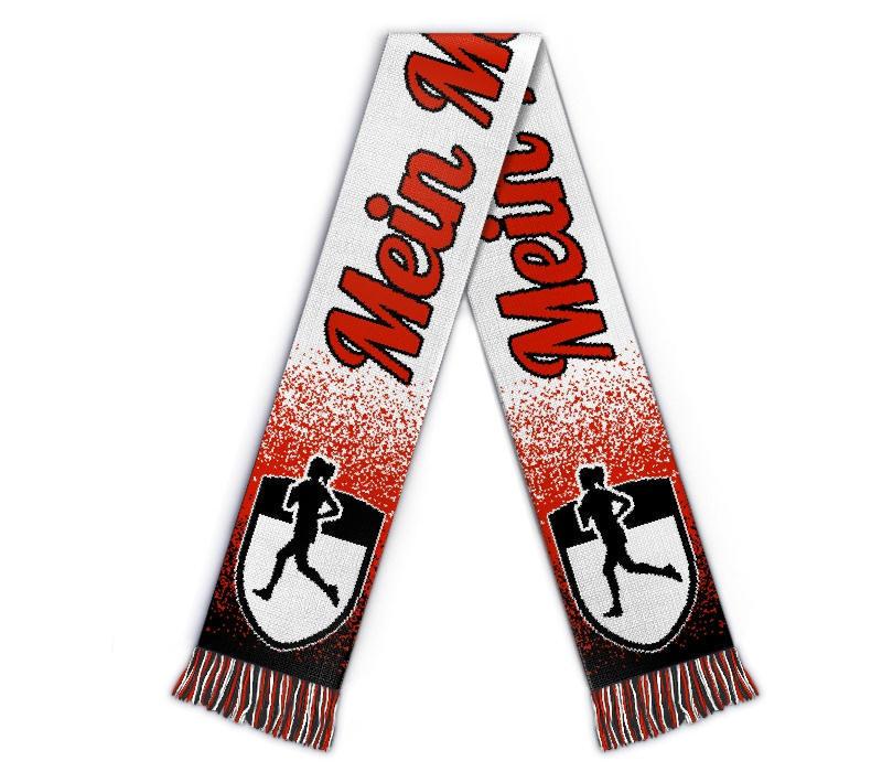Fanschal Marathon Schal individuell mit Name