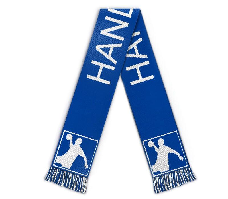 Fanschal Handball Schal gestalten, mit Name, Verein, Logo