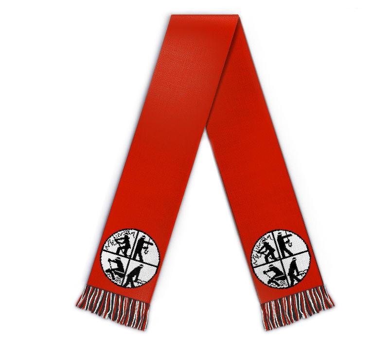 Fanschal Feuerwehr Schal selbst gestalten Fanartikel