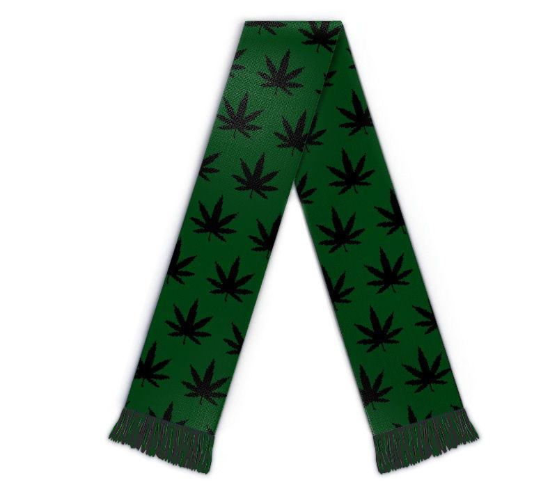 Cannabis Fanschal, Schal individuell gestalten