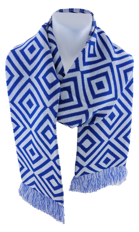 Individuellbekleidung - Maxi Fanschal mit Rauten - Onlineshop Wildemasche