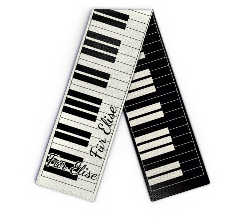 design schal klavier klaviatur online gestalten wildemasche. Black Bedroom Furniture Sets. Home Design Ideas