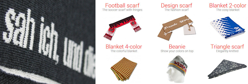 Custom Design scarves