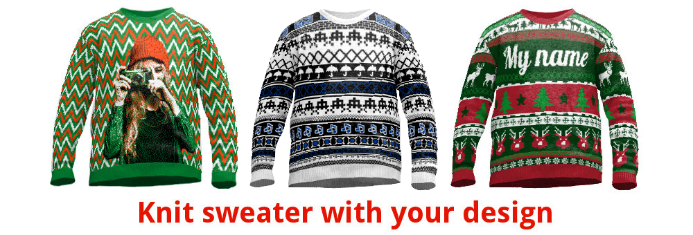 Custom sweaters online design