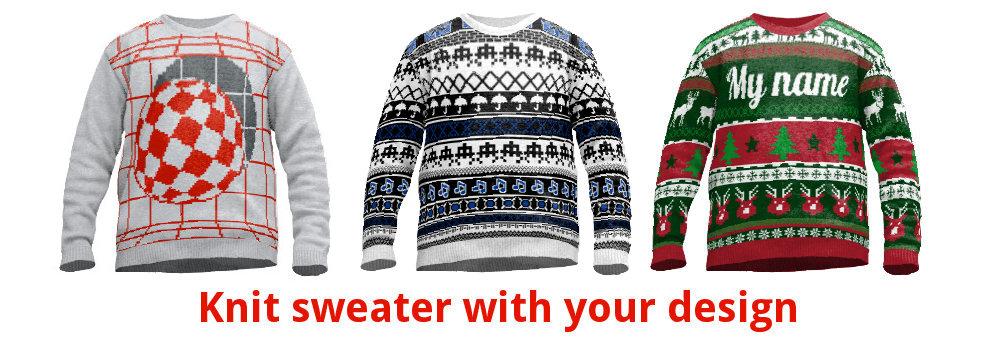 Custom sweaters online design